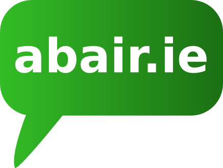 Logo of abair.ie